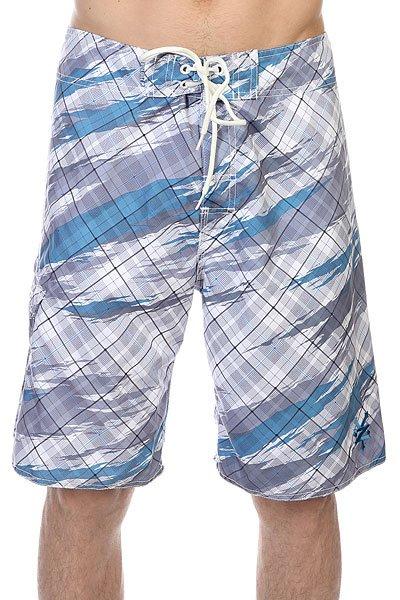 Шорты пляжные Zoo York Enew15 Flipped SlateДанная модель не имеет внутренней подкладки в виде сеточки<br><br>Цвет: белый,серый,голубой<br>Тип: Шорты пляжные<br>Возраст: Взрослый<br>Пол: Мужской