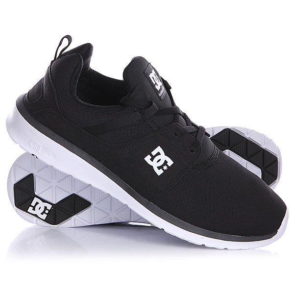 Кроссовки DC Heathrow Black/White dc shoes кеды dc heathrow 8