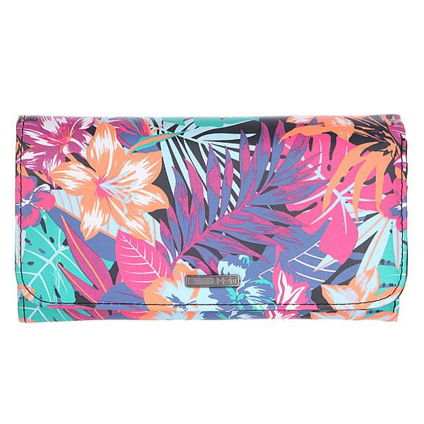 Кошелек женский Roxy My Long Eyes J Garden Party Wallet