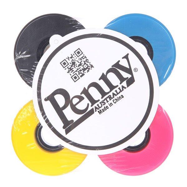 Колеса для скейтборда для лонгборда Penny Wheels Pink/Black/Yellow/BlueДиаметр: 59 mm    Жесткость: 79A    Цена указана за комплект из 4-х колес<br><br>Цвет: голубой,розовый,желтый,черный<br>Тип: Колеса для лонгборда