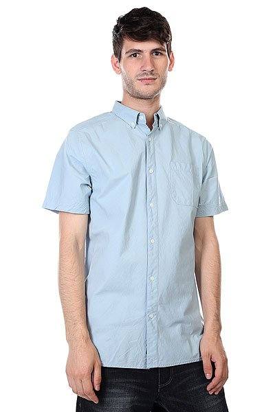 Рубашка Nixon Endo Shirt Light Blue