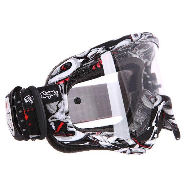 Маска для мотоспорта Oakley Xs O-frame Mx Tld Medusa Clear