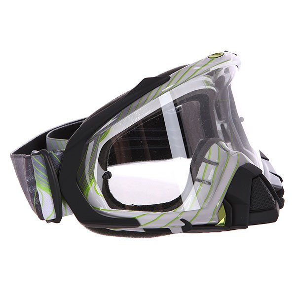 Маска для мотоспорта Oakley Mayhem Swell Fade Green Clear Dark Grey