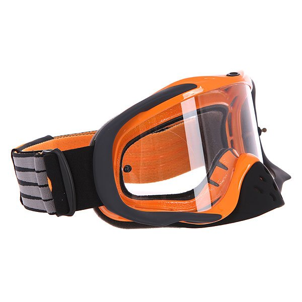 Маска для мотоспорта Oakley Crowbar Mx Herlings Signature Clear