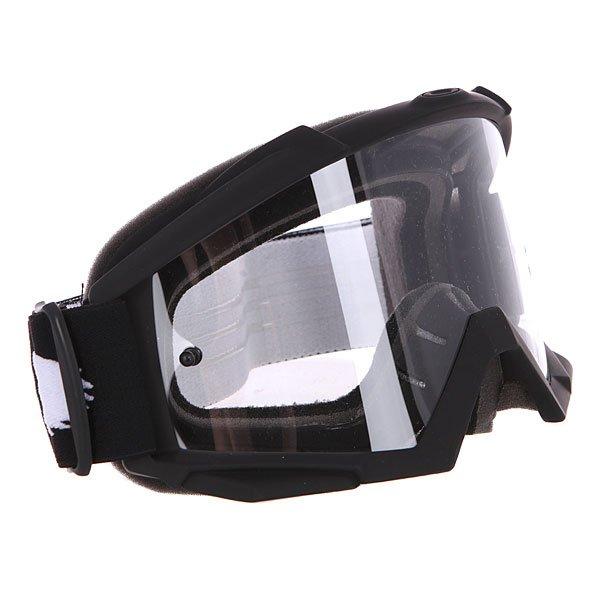 Маска для мотоспорта Oakley Proven Mx Matte Black ClearКомфортная маска в гибкой оправе O Matter™ и объемными линзами с отличным периферийным обзором.Технические характеристики: Ударопрочные линзы из материала Lexan™.Устойчивое к царапинам покрытие линз.Защита от запотевания F2 Anti-fog.Тройной слой пены и слой микро флиса.Широкий регулирующийся ремень.Силиконовые нити против скольжения.Возможность установки отрывных линз.Чехол в комплекте.<br><br>Цвет: черный<br>Тип: Маски<br>Возраст: Взрослый<br>Пол: Мужской