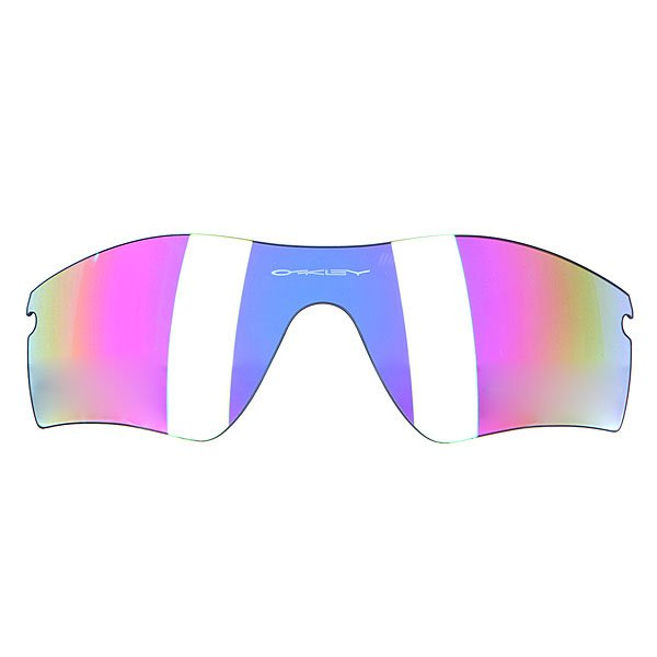 Линза для маски (мото/вело) Oakley Radar Path Repl Lens G26 IridiumHDO optics -технология позволившая фильтрам Oakley достичь 100%-ой оптической корректности, благодаря этому вы можете видеть ясно и четко без увеличения, свойственного обычным оптическим линзам.Plutonite - материал из которого изготовлены все фильтры Oakley, дают 100% защиту от ультрафиолета A/B/C и блокирует 100% вредного ультрафиолетового  излучения на расстоянии до 400 нанометров.Impact protection - Все фильтра Oakley проходят тесты на ударопрочность, включающий удар металлического шарика на скорости 164 километра в час и падение стержня весом 0.5 килограмм с метровой высоты.                                                                    Технические характеристики: Антибликовая технология тонирования Iridium.Покрытие HYDROPHOBIC™ - патентованная защита Oakley от смазывания изображения, которое отталкивает воду, масла и пыль.Устойчивый к царапинам фильтр PLUTONITE® на 100% защищает от ультрафиолетового излучения (блокирует вредное UVA, UVB, UVC излучение, а также ультрафиолетовое излучение до 400 NM).Оптическая точность и защита от воздействий достигает стандартов ANSI Z87.1 для высоких скоростей и масс.Улучшенный периферический обзор благодаря геометрии линзы POLARIC ELLIPSOID™.Для моделей масок Oakley Radar.<br><br>Цвет: фиолетовый<br>Тип: Линзы<br>Возраст: Взрослый<br>Пол: Мужской