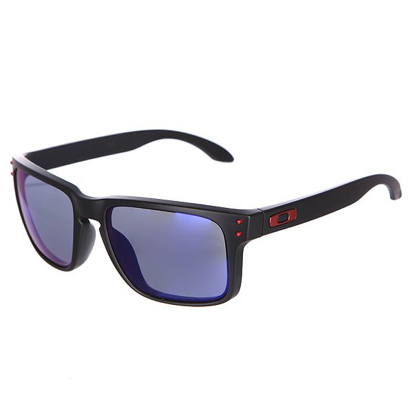 Очки Oakley Holbrook Matte Black/Positive Red Iridium