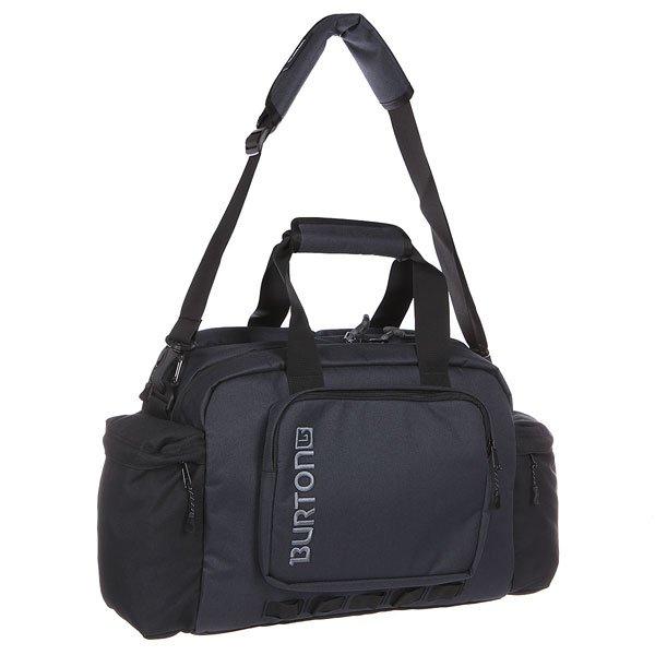 Сумка Burton Access Messenger 20L True Black Hthr TwillХорошая вместительность и уникальный дизайн: подобно рюкзаку, эта сумка оснащена поясным ремнем, позволяющим плотно закрепить её на спине, а также отделениями для ноутбука и планшета с быстрым доступом. Характеристики:Поясной ремень, позволяющий закрепить сумку на талии.  Мягкое отделение для ноутбука на молнии с быстрым доступом (41 х 30.5 х 3 см).  Карман на молнии для планшета или маленького ноутбука (24 х 19 х 2,5 см).  Двойное основное отделение и 2 боковых кармана на молнии.  Внутренние карманы-органайзеры.  Задний потайной карман для денег и документов. Форм-фактор – сумка-органайзер (messenger bag).<br><br>Цвет: черный,синий<br>Тип: Сумка спортивная<br>Возраст: Взрослый<br>Пол: Мужской