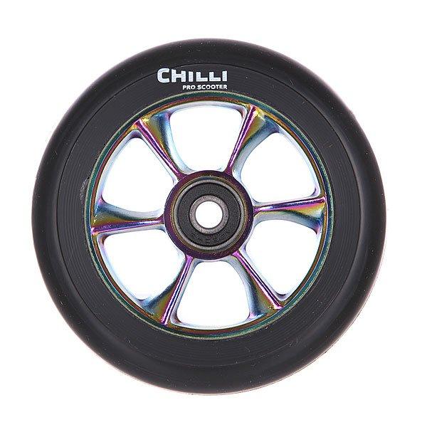 Колесо для самоката Chilli Turbo Wheel 110Mm Rainbow