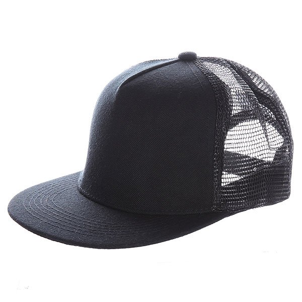 Бейсболка TRUESPIN 5 Panel Trucker Black
