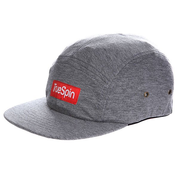 Бейсболка TRUESPIN Jersey 5 Panel Cap Light Melange