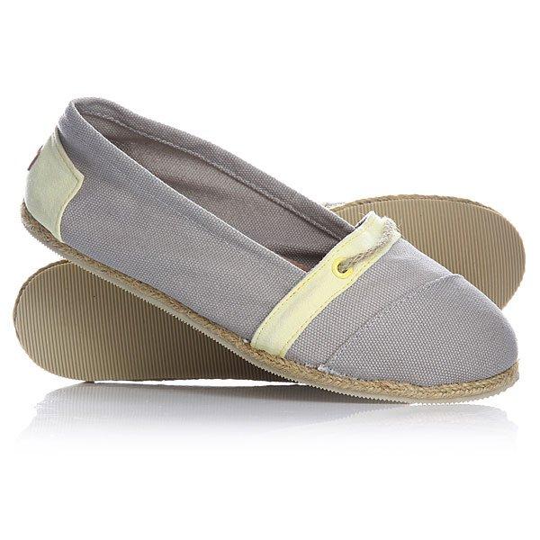 Эспадрильи женские Paez Harmonies Low Cut PrestoУдобная и легкая обувь на лето от аргентинского производителя - Paez. Стильные и качественные эспадрильи, с ортопедической стелькой, будут уместны при любой обстановке и станут отличным дополнением к Вашему гардеробу. Такая обувь отлично подойдет и для городских прогулок и для похода на пляж. Эспадрильи очень быстро сохнут и устойчивы к загрязнениям, что делает их универсальной обувью для всех!Характеристики:Состав: 100% хлопчатобумажная ткань.Подошва: 100% эвапласт (неопрен). Стелька: 100%кожа, имеет ортопедический упор под свод стопы. Быстро высыхают от влаги. Устойчивы к загрязнениям. Прочная отделка и качественные материалы. Удобная ортопедическая стелька из кожи с супинатором для поддержания свода стопы.Перфорациякожаной стельки обеспечивает дополнительную вентиляцию для Ваших ног. Двойная строчка с использованием прочной капроновой нити.<br><br>Цвет: серый<br>Тип: Эспадрильи<br>Возраст: Взрослый<br>Пол: Женский