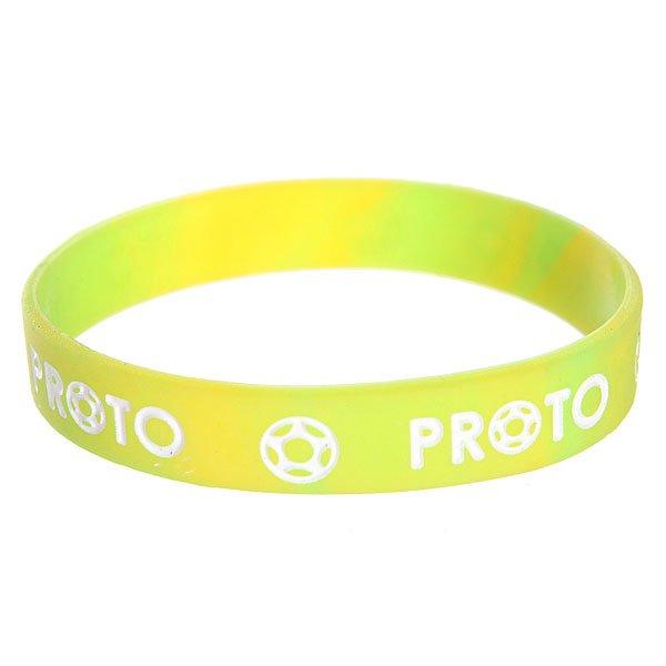Браслет Proto Scooters Equilibrio Bracelet Neon GreenМягкие силиконовые браслеты всегда найдут своих поклонников.Характеристики:Материал: резина.<br><br>Цвет: зеленый<br>Возраст: Взрослый
