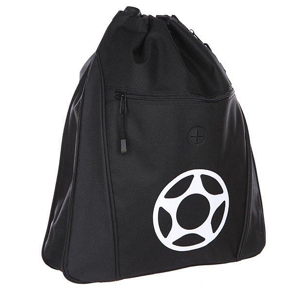 Мешок Proto Scooters Scum Deluxe Bag BlackУдобный мешок Proto Scooters Scum с утяжкой горловины шнурком хорошо подойдет для переноски обуви или объемных вещей.Характеристики:Утяжка горловины. Карман на молнии. Лицевой принт.<br><br>Цвет: черный<br>Тип: Мешок<br>Возраст: Взрослый