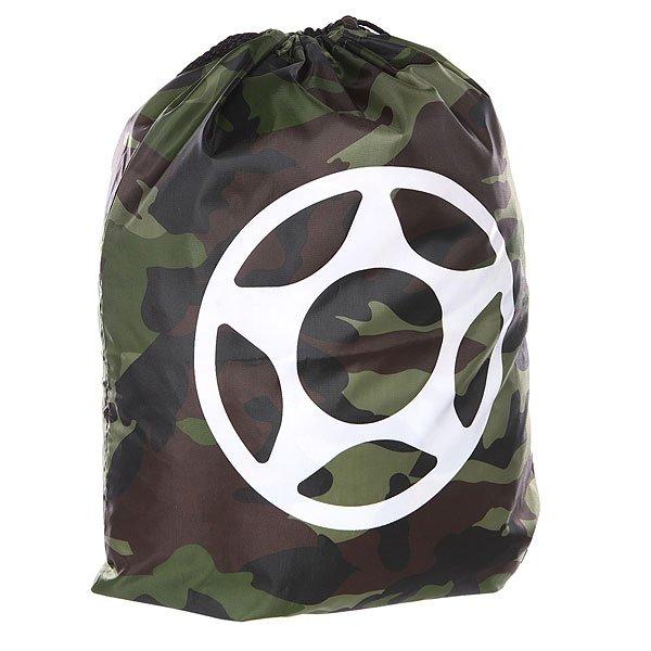 Мешок Proto Scooters Scum Bag Army CamoСумка для легких путешествий в стиле минимализма.Технические характеристики: Камуфляжный дизайн.Застежка - шнурок.Крупный логотип Proto Scooters.<br><br>Цвет: черный,зеленый,коричневый,камувляжный<br>Тип: Мешок<br>Возраст: Взрослый