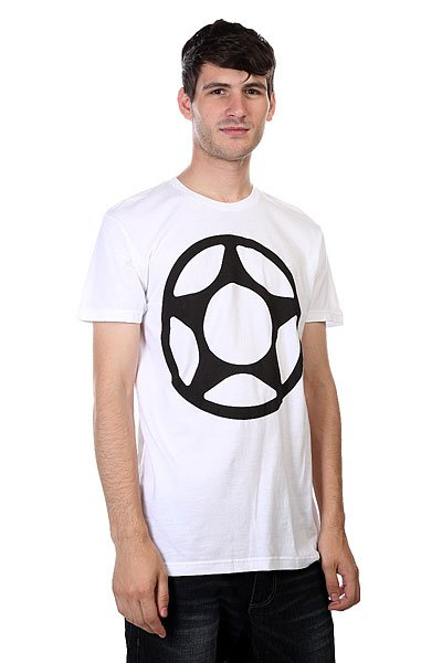 Футболка Proto Scooters Big Star Tee Black On White