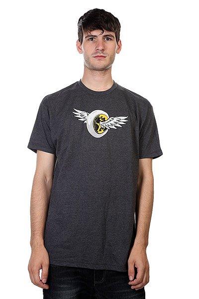 Футболка Proto Scooters Wings Tee Charcoal<br><br>Цвет: серый<br>Тип: Футболка<br>Возраст: Взрослый<br>Пол: Мужской