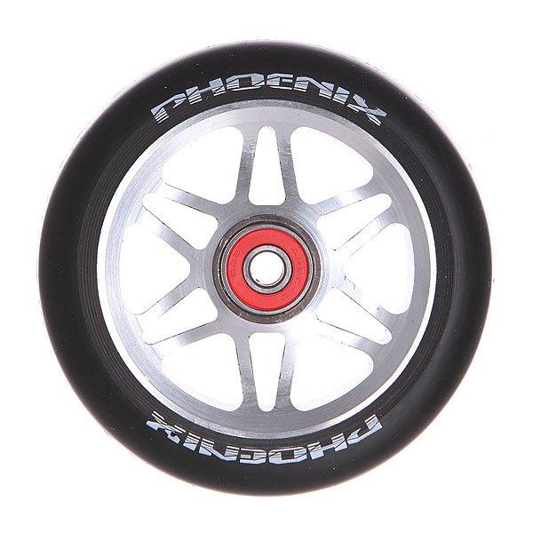 Колесо для самоката Phoenix F6 Alloy Core Wheel 110mm With Abec 9 Bearings Grey/Black