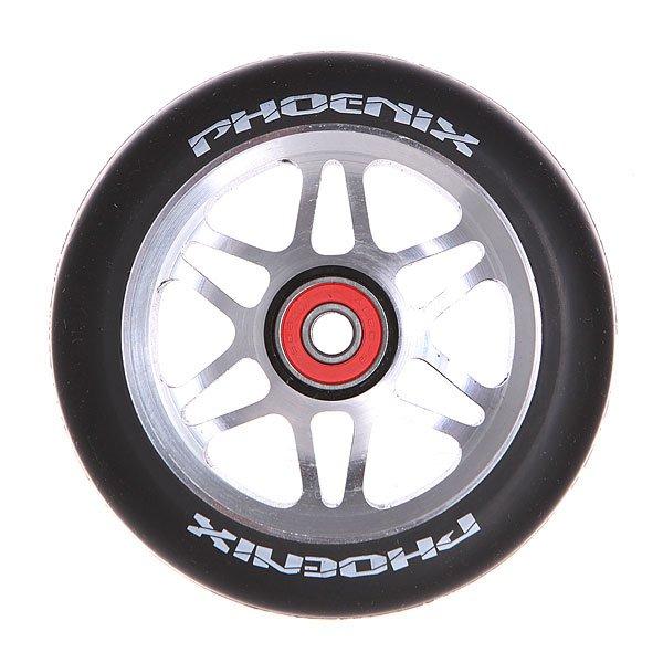 Колесо для самоката Phoenix F6 Alloy Core Wheel 110mm With Abec 9 Bearings BlackPhoenix<br><br>Цвет: черный,серый<br>Тип: Колесо для самоката