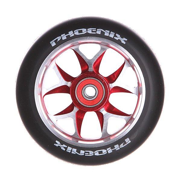Колесо для самоката Phoenix F8 Alloy Core Wheel 110mm With Abec 9 Bearings Red/Black