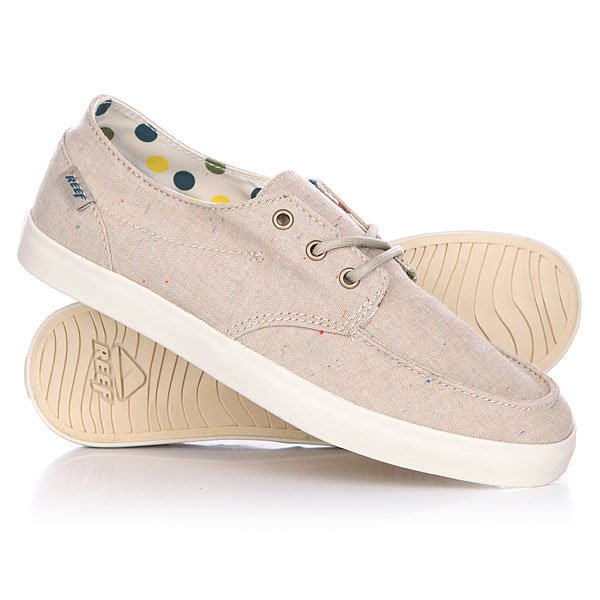 Мокасины Reef Deck Hand 2 Tx Tan/Dots
