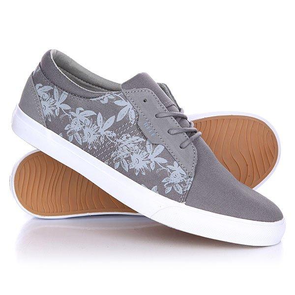 Кеды кроссовки низкие Reef Ridge Prints Grey Floral