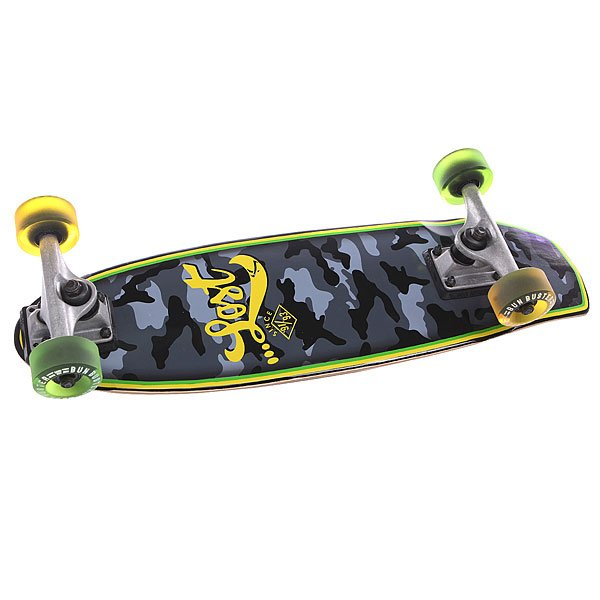 Скейт мини круизер Lost Hot Potato Grey/Black 7 x 24 (61 см)LOST — это бренд серферов, работающий для серферов. Это не для всех, только для тех кто в культуре. Также с недавнего прошлого …LOST запустил производство лонгбордов. Каждый скейт был сделан по аналогии с одноименной доской для серфинга, и протестирован Чадом Шетлером — человеком легендой в скейтбординге, 3-х кратным победителем ULTIMATE RIDER.Технические характеристики:  Конкейв: средний. Подвеска: Lost Stealth 9``. Колеса: 62 mm Blacksheep.Подшипники: Abec 7.<br><br>Цвет: черный,серый,зеленый,желтый<br>Тип: Скейт мини круизер