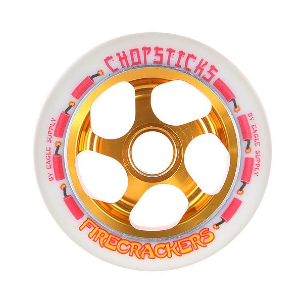 Колесо для самоката Chopsticks Firecrackers Wheel 110mm White