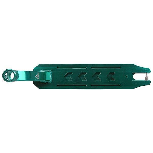 Дека для скейтборда для самоката Chilli Pro 7000 Deck Green