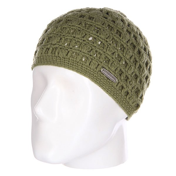 Шапка вязаная женская Dakine Lacey Green<br><br>Цвет: зеленый<br>Тип: Шапка<br>Возраст: Взрослый<br>Пол: Женский