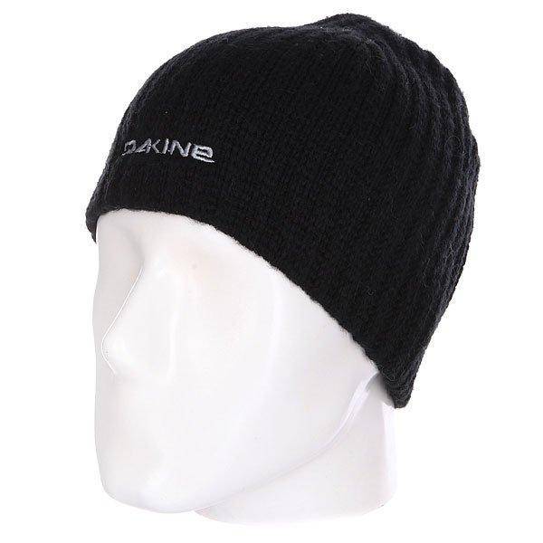 Шапка Dakine Vert Rib Black<br><br>Цвет: черный<br>Тип: Шапка<br>Возраст: Взрослый