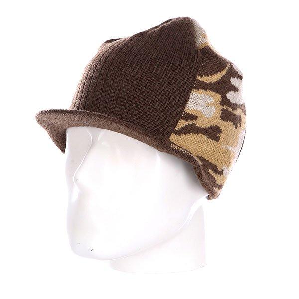 Шапка с козырьком Dekline Wedge Brown<br><br>Цвет: коричневый<br>Тип: Шапка<br>Возраст: Взрослый
