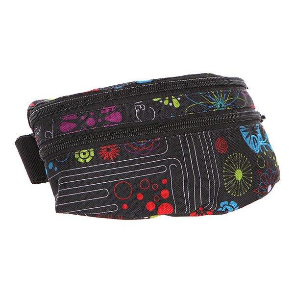 Сумка поясная женская Dekline Classic Hip Pack Black Spy сумка на пояс женская как называется