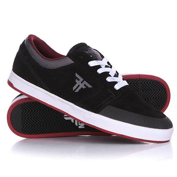 Кеды кроссовки низкие Fallen Torch Black/Ash Grey кеды кроссовки низкие детские quiksilver beacon black black grey