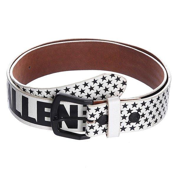 Ремень Fallen Liberty Belt White/Black<br><br>Цвет: бежевый,черный<br>Тип: Ремень<br>Возраст: Взрослый<br>Пол: Мужской