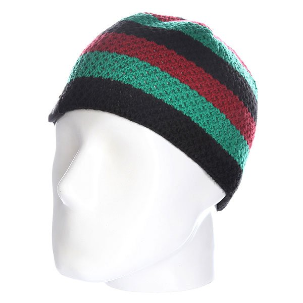 Шапка Fallen Buffalo Strip Knits Beanie Africa шапка fallen buffalo striped knits beanie grey oxblood