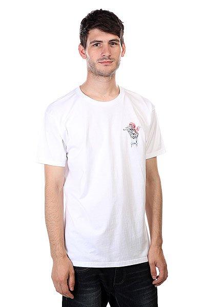 Футболка Osiris Tee Bomber White<br><br>Цвет: белый<br>Тип: Футболка<br>Возраст: Взрослый<br>Пол: Мужской