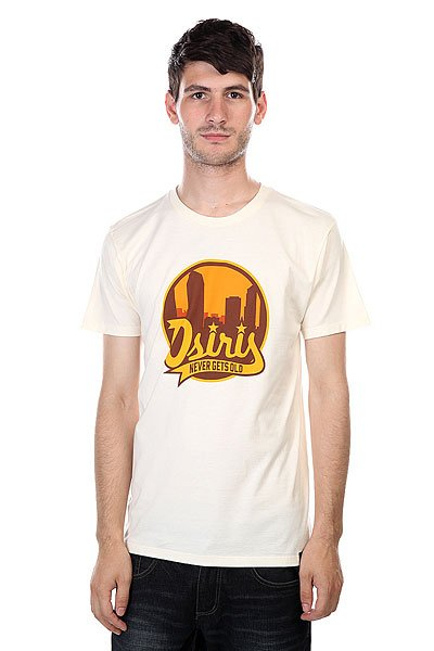 Футболка Osiris Tee Scenario Cream футболка osiris tee bomber white
