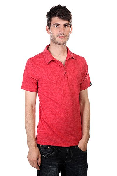 ���� Osiris Crosby Polo Shirt Red