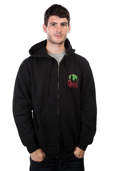 Толстовка Osiris Fleece Zip Scenario Black