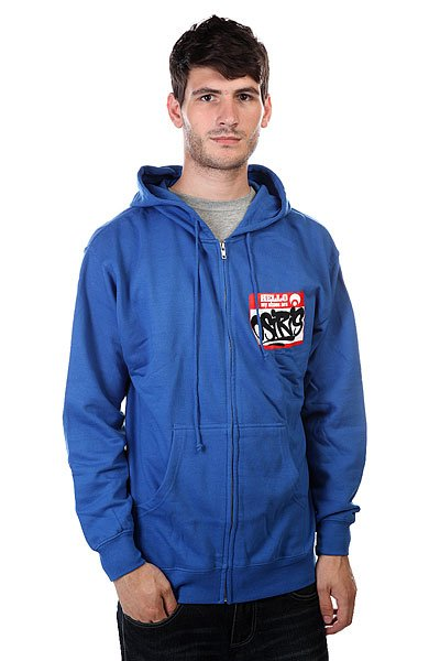 Толстовка Osiris Fleece Zip Hello Royal