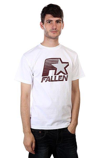 Футболка Fallen Brewer White<br><br>Цвет: белый<br>Тип: Футболка<br>Возраст: Взрослый<br>Пол: Мужской