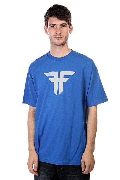 Футболка Fallen Trademark Royal/Grey<br><br>Цвет: синий<br>Тип: Футболка<br>Возраст: Взрослый<br>Пол: Мужской