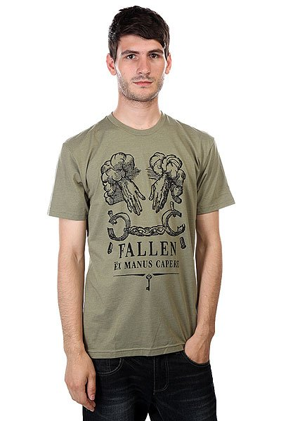Футболка Fallen Freedom Premium Heather Olive