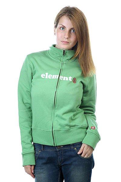 Толстовка женская Element Fleece Cooper<br><br>Цвет: зеленый<br>Тип: Толстовка классическая<br>Возраст: Взрослый<br>Пол: Женский