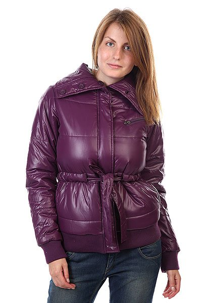 Куртка женская Element Lilo Purple HazeТехнические характеристики: Верх из 100% полиэстера. Внутренняя подкладка-тафта.Легкое утепление (осень/весна).  Застежка – пуговицы.  Фиксированный пояс. Два боковых прорезных кармана для рук. Эластичные лайкровые манжеты на рукавах и подоле. Фасон: стандартный (regular fit).<br><br>Цвет: фиолетовый<br>Тип: Куртка зимняя<br>Возраст: Взрослый<br>Пол: Женский
