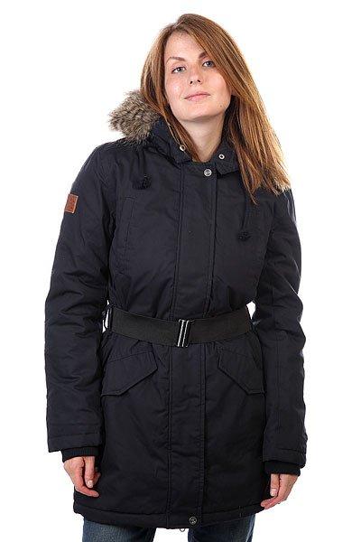 Куртка парка женская Element Jonie Dress BluesОтличная куртка, которая способна защитить вас от холода, дождя и ветра.Характеристики:Внутренняя подкладка из тафты. Застежка – молния+кнопки.Эластичные манжеты на рукавах и воротнике. Потайная регулировка ширины пояса. Эластичный ремень в комплекте.Два боковых прорезных кармана для рук. Фасон – стандартный удлиненный (regular  long fit).<br><br>Цвет: синий<br>Тип: Куртка парка<br>Возраст: Взрослый<br>Пол: Женский