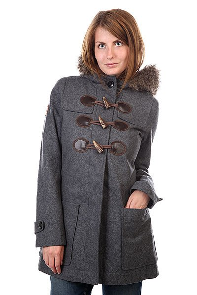 Пальто женское Element Duffy Ii Charcoal Heather