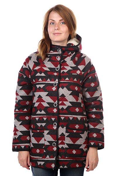 Пальто женское Element Helena Crimson RedТеплое шерстяное пальто понравится даже самым искушенным модницам и подчеркнет ваш стиль. Характеристики:Верх из комбинации полиэстера и шерсти. Внутренняя подкладка из полиэстера.  Застежка-кнопки. Накладные карманы для рук.  Фиксированный капюшон с внутренней отделкой из искусственного меха. Фасон: стандартный (regular fit).<br><br>Цвет: бордовый,черный,бежевый<br>Тип: Пальто<br>Возраст: Взрослый<br>Пол: Женский
