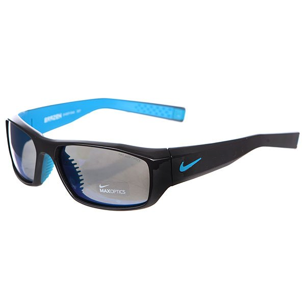 Очки Nike Optics Brazen Grey W/ Blue Flash Lens Night Stadium/Neo Turq